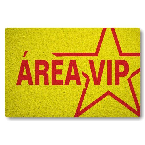 tapete-capacho-personalizado-area-vip-amarelo